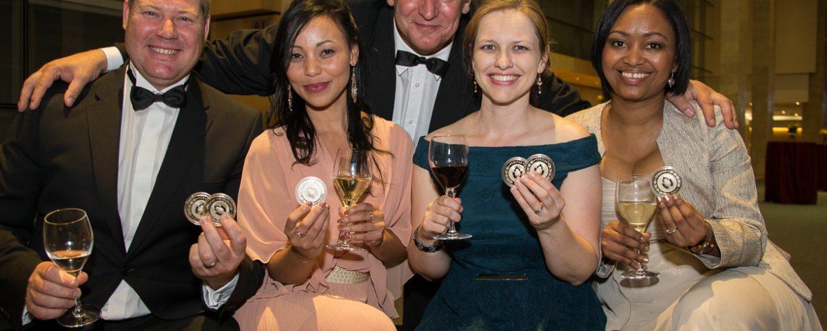 veritas-top-achievers-wine-back-charles-hopkins-veritas-front-l-to-r-johan-joubert-spier-elmarie-botes-fleur-du-cap-mia-boonzaaier-flagstone-natasha-boks-nederburg